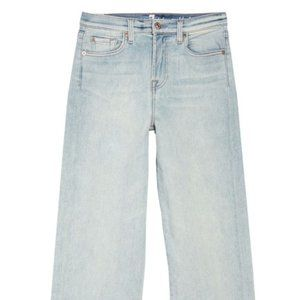 NEW 7 For All Mankind Cropped Wide Leg Jeans 25-30